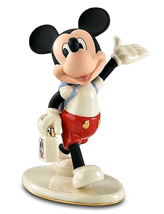 lenox disney mouseketeer days mickey mouse figurine mickey mouse club ebay. Black Bedroom Furniture Sets. Home Design Ideas