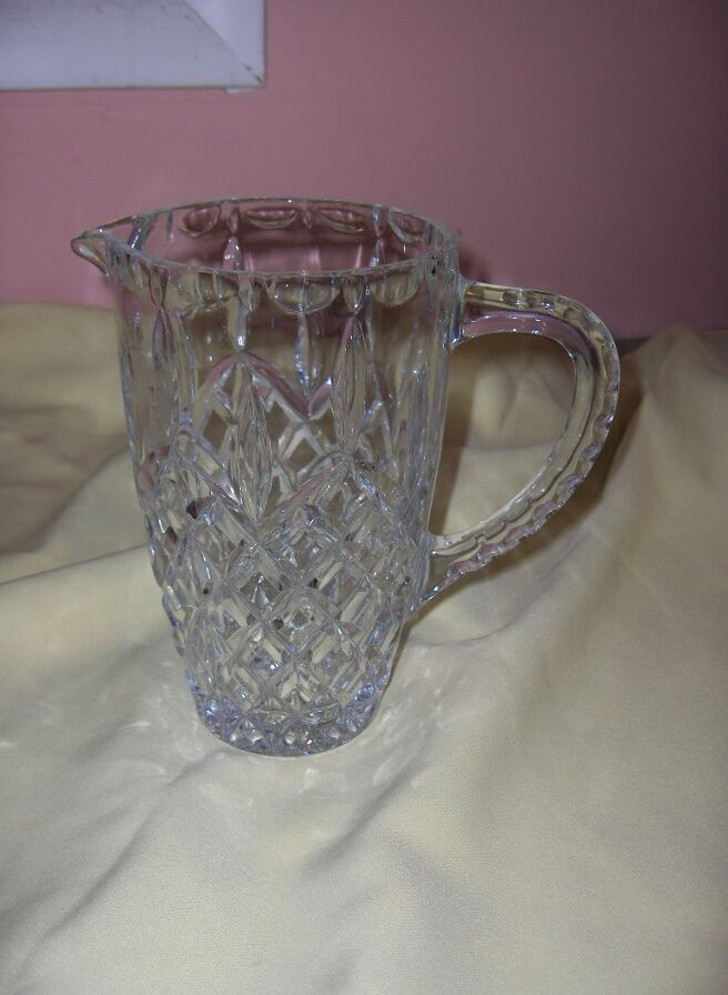 Antique Glass Pitcher Identification