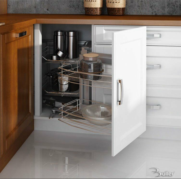 Zauberecke magic corner storage with soft close for blind - Magic corner cabinet ...