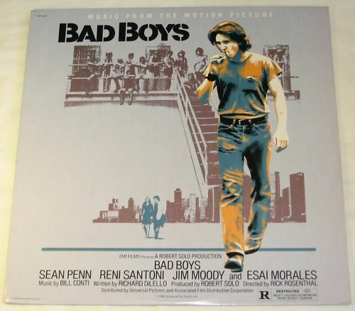 Bad Boys With Sean Penn: BAD BOYS - LP - SOUNDTRACK - SEAN PENN