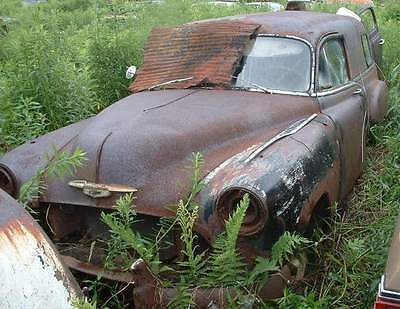 1951 Chevy Chevrolet Sedan Delivery Rat Hot Rod project