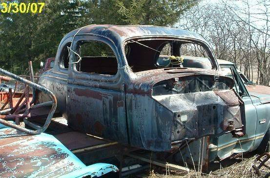 1935 1936 Ford Coupe Rat Hot Rod Project Stock Car Ebay