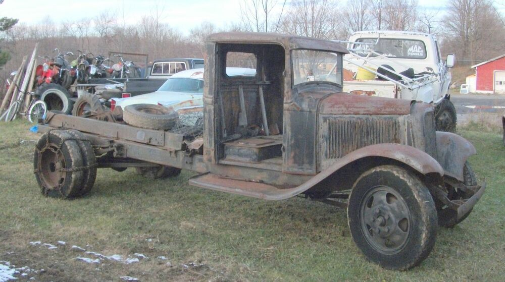 1932 Ford 1-ton truck pickup solid cab rat hot rod | eBay