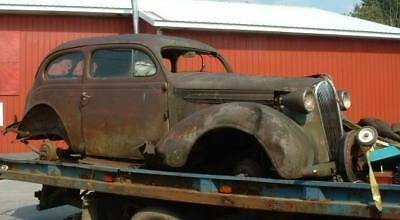 1937 Plymouth tudor sedan rat hot rod project