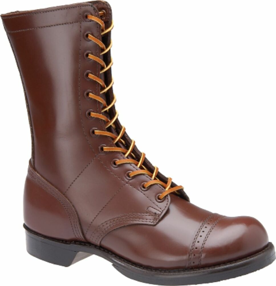 Wwii Original Repro Jump Boots Corcoran Brown Style 1510