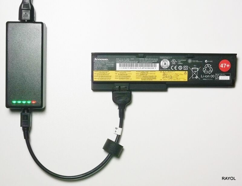 External Laptop Battery Charger For Lenovo X200 X201