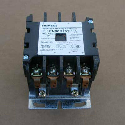 New Siemens LEN00B202480A 20A 4P Lighting Contactor Opn