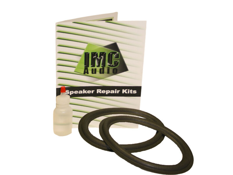 6x9 Foam Speaker Surround Repair Kit With Clear Glue To