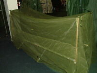 US MILITARY FIELD TYPE INSECT BAR MOSQUITO NETTING NYLON OVER COT NEW