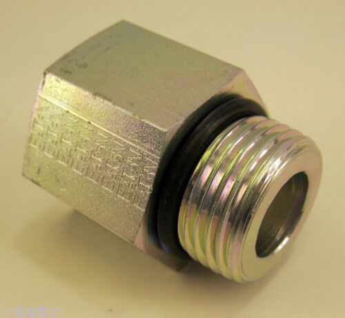 Quot male port o ring fpt c s forged adapter ebay