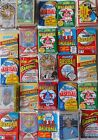 45 VINTAGE FACTORY SEALED BASEBALL CARDS IN PACKS