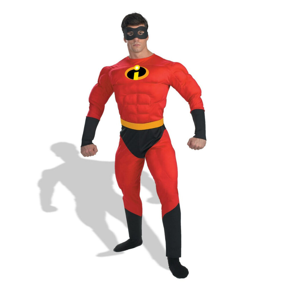 Adult XL The Incredibles Mr. Incredible Muscle Costume   eBay Incredibles Costume