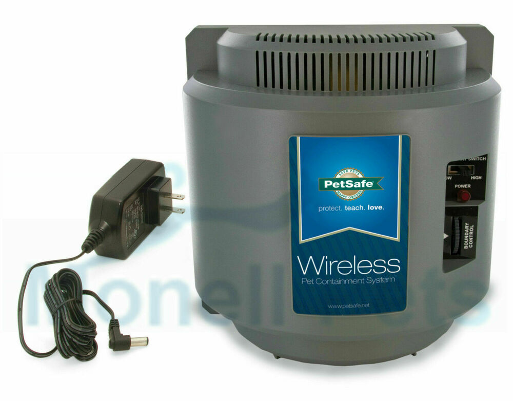 wireless dog fence petsafe wireless if 100 containment fence transmitter 29113