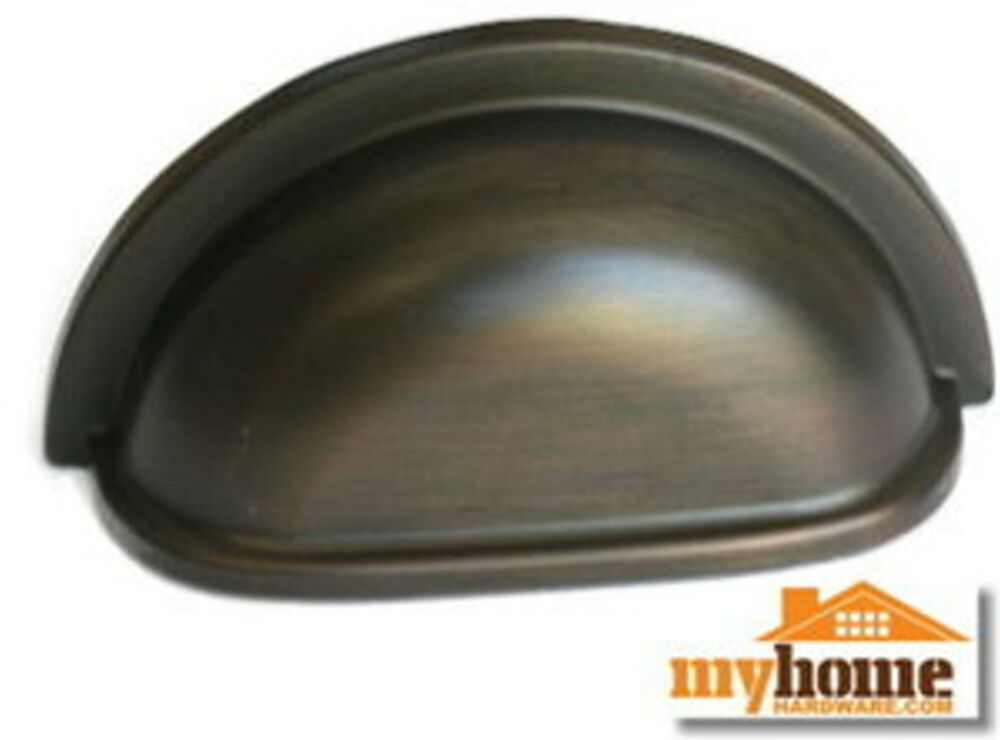 Cabinet Hardware Cup 953 Pulls Oil Rubbed Bronze Pull 3 Quot C
