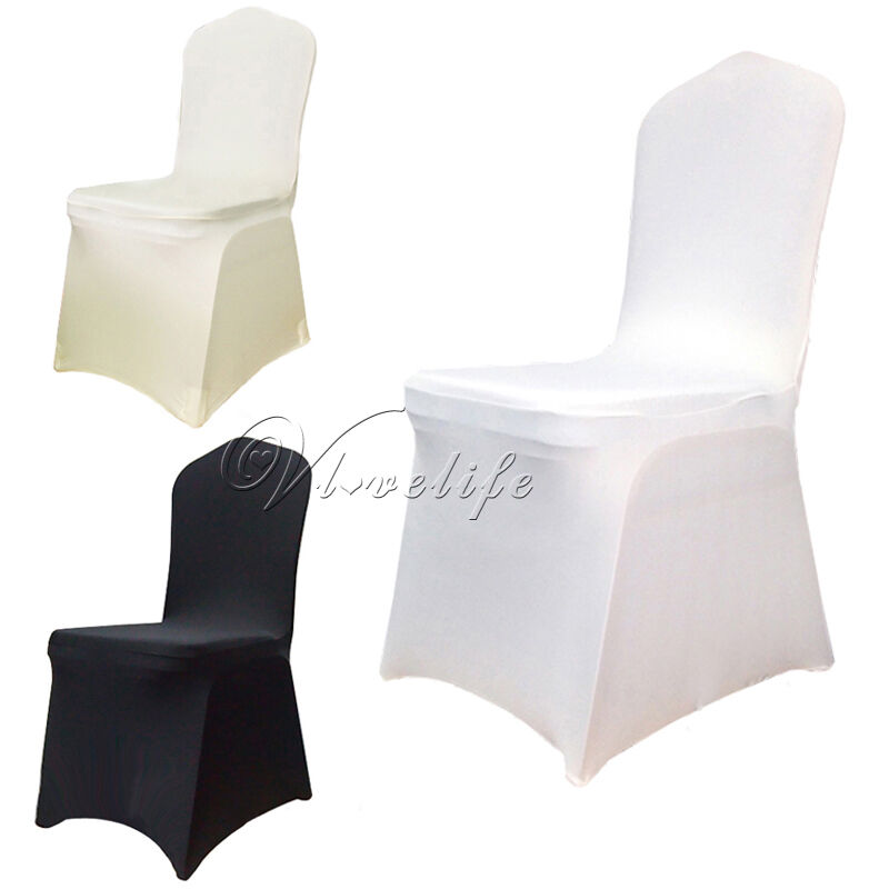 New Spandex Lycra Chair Cover For Wedding Party Banquet Ebay