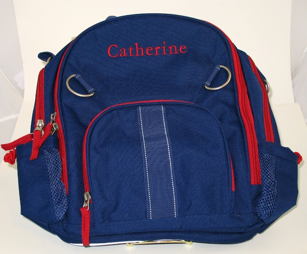 Pottery Barn Kids Fairfax Backpack Small Blue Catherine Ebay
