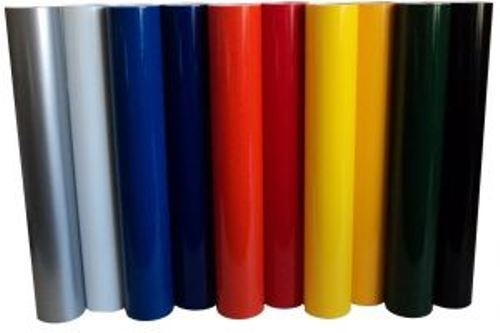 Vinyl Rolls Film Material Self Adhesive Backed Sign Colors