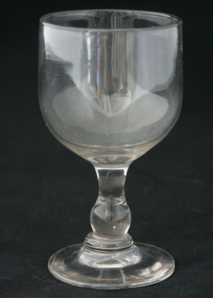 A large antique 19th century red wine glass ebay for Large red wine glass