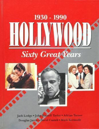 hollywood 60 great years 1930 1990 hc 1992 ebay. Black Bedroom Furniture Sets. Home Design Ideas