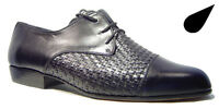 Mens Leather Dress Work Office Shoes Black - Hilo style