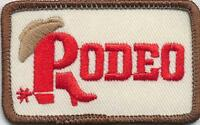 Girl Boy Cub RODEO Fun Patches Crests Badges SCOUTS GUIDES Iron On homeschool