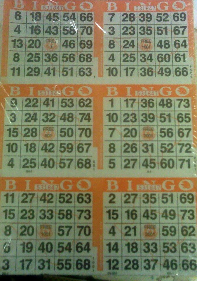 how to play bingo on paper