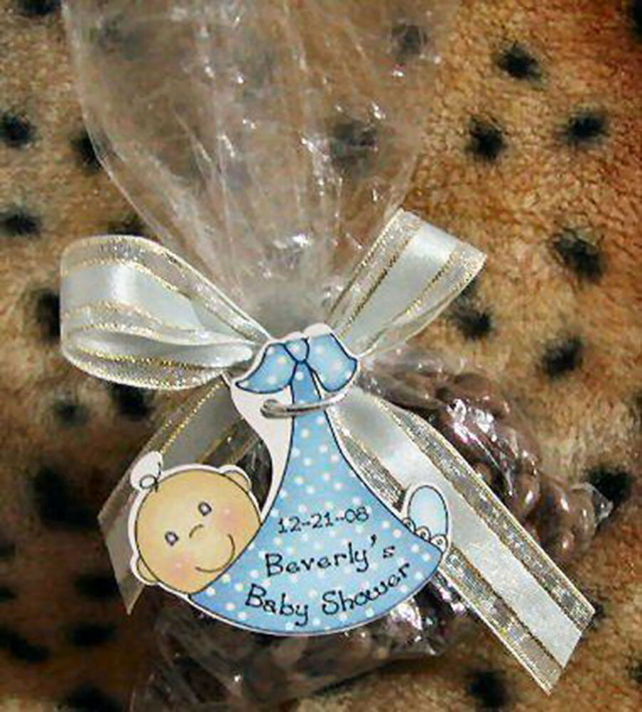 Baby Shower Favors In Riyadh ~ Baby shower party favor gift tags polka dots sling
