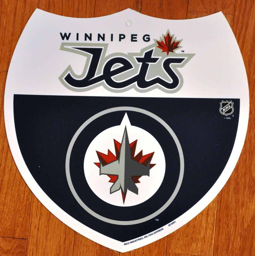 Man Cave Store Winnipeg : Winnipeg jets decorative bar fan man cave interstate sign