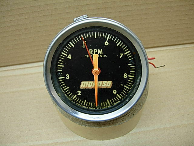 vintage jones motorola moroso 10k tachometer light. Black Bedroom Furniture Sets. Home Design Ideas