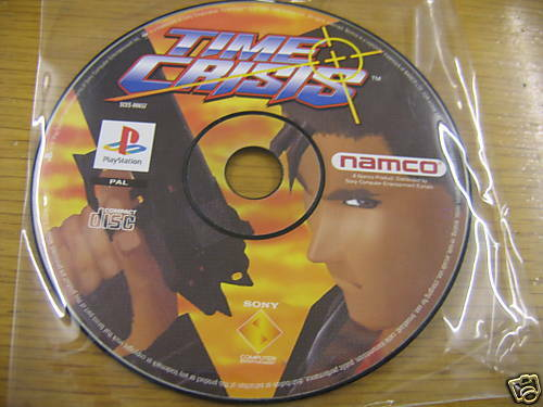 Games For Ps3 Only : Time crisis by namco for playstation one psone ps