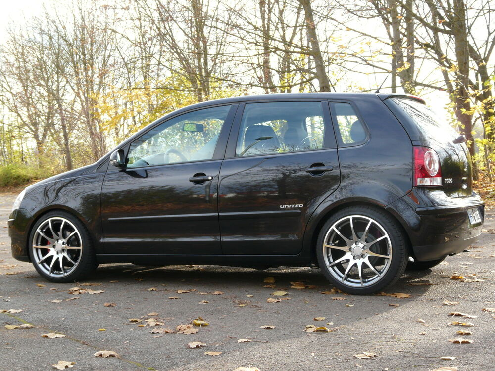 17 tomason tn1 8x17 komplettr der vw polo 9n 9n3 ebay. Black Bedroom Furniture Sets. Home Design Ideas