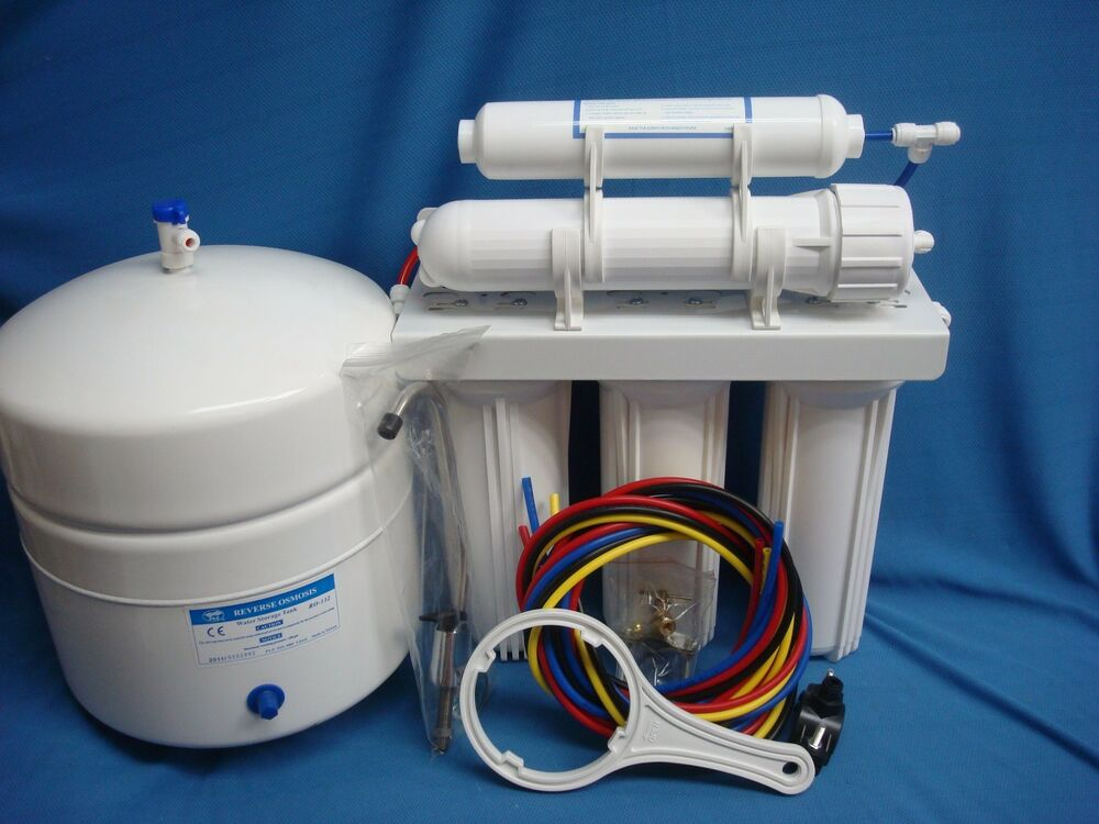 Reverse Osmosis System 5 Stage 100 150 Gpd Ro Membrane