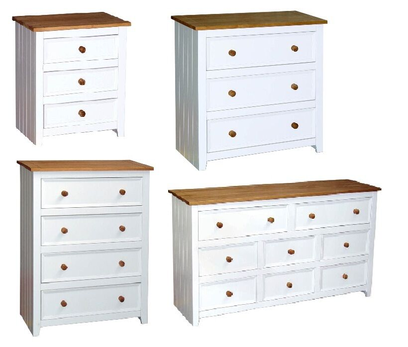 capri bedroom furniture white pine drawer chest series ebay