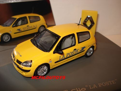 universal hobbies renault clio ii version 3 portes la poste au 1 43 ebay. Black Bedroom Furniture Sets. Home Design Ideas