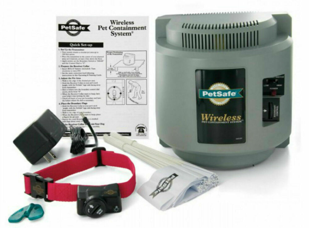Pif 300 Petsafe Wireless Fence Pet Dog Containment System