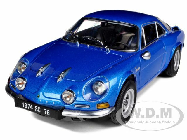 1974 renault alpine a110 1600sc blue 1 18 diecast model car by kyosho 08482 ebay. Black Bedroom Furniture Sets. Home Design Ideas