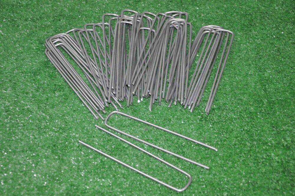 75 sod staples landscape anchor pins for above ground dog fence installation new