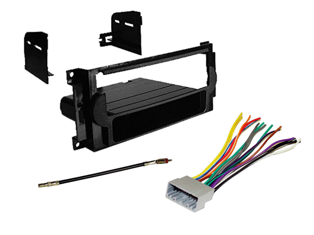 Wiring Harness And Install Kit : Dodge magnum car radio stereo cd dash mount install kit