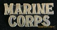 MARINE CORPS SCRIPT LAPEL HAT PIN UP US MARINES VETERAN GIFT USMC MCAS MCB WOW