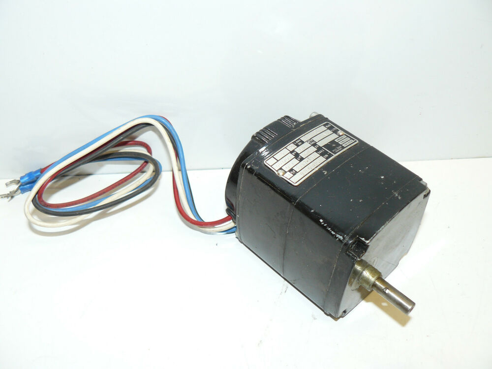 Bodine electric company kl1 24t3 a c motor 115v 17 20 rpm for 20 rpm electric motor