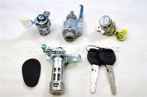 For Honda Accord Dx Door Ignition Trunk Cylinder Lock Set