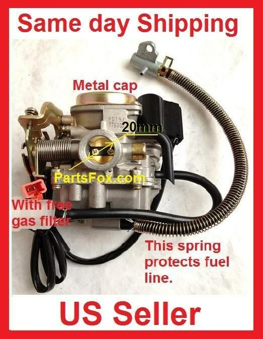 Performance Carb Gy6 60cc Pd19 19mm Carburetor Fit 50cc