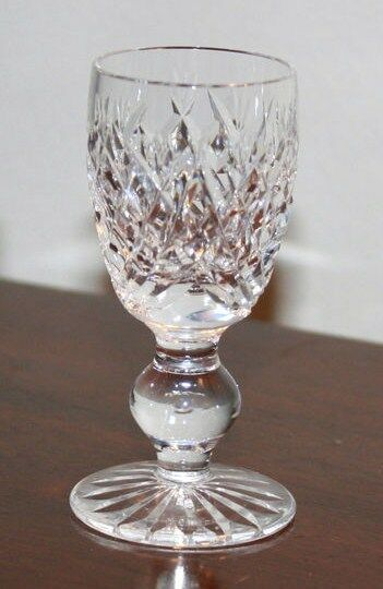 4 Waterford Crystal Donegal 3 1 4 Quot Cordial Glasses Cut