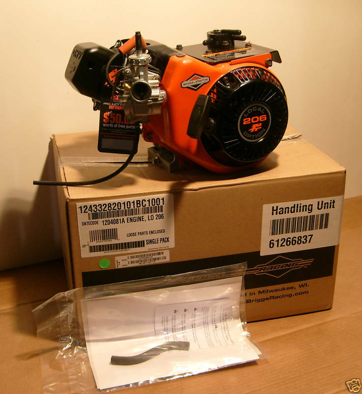 Briggs Lo206 Racing Engine Local Option L0206 Animal Go