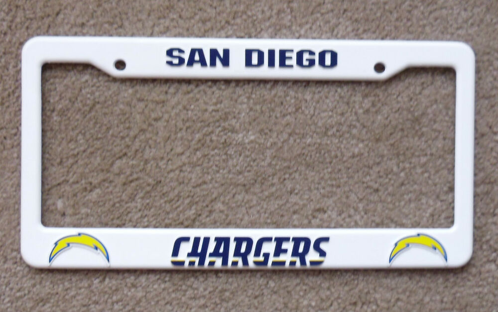 New San Diego Chargers Nfl Football League License Plate