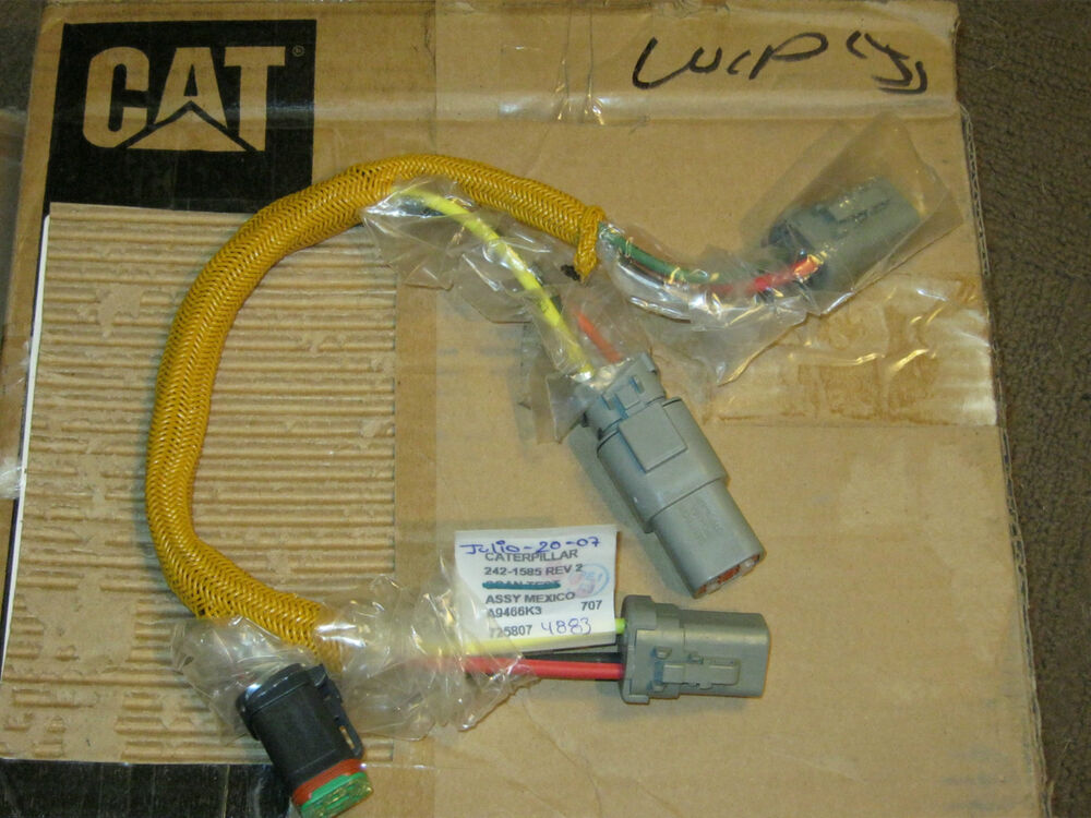 caterpillar test scan wiring harness 242 1585 rev 2. Black Bedroom Furniture Sets. Home Design Ideas