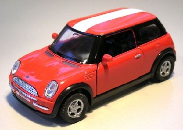 mini cooper rot sterreich modellauto welly ebay. Black Bedroom Furniture Sets. Home Design Ideas