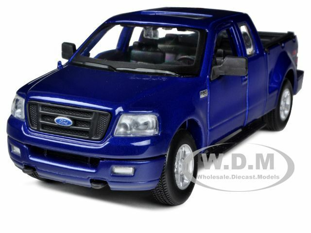 2004 ford f 150 fx4 metallic blue 1 31 diecast car model. Black Bedroom Furniture Sets. Home Design Ideas