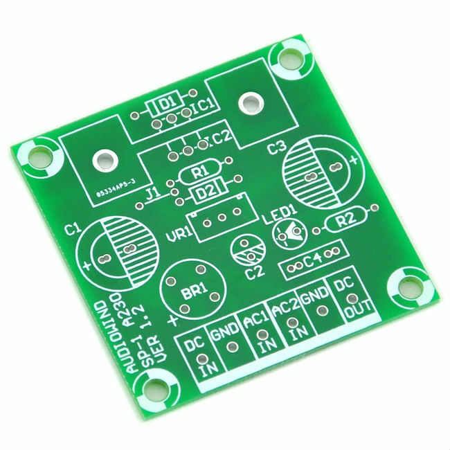 Voltage Regulator Pcb For Lm317 Or 78xx Series Ic Ebay
