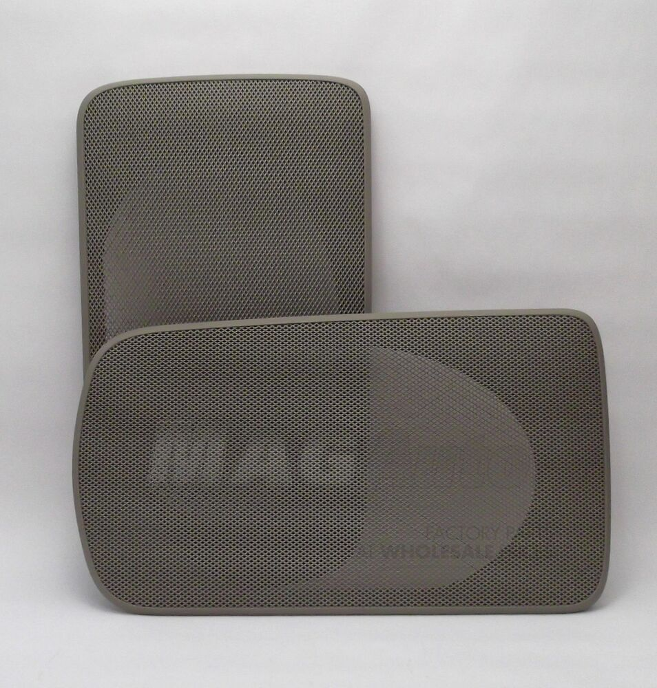 toyota camry 2006 speaker covers replacing 2002 2006. Black Bedroom Furniture Sets. Home Design Ideas
